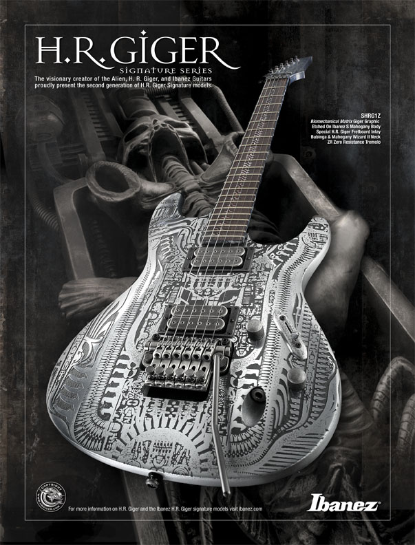 Ibanez HR GIger Signature Series